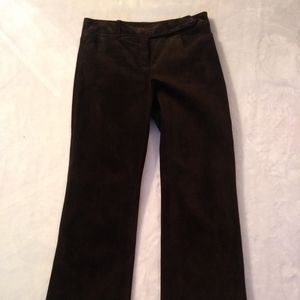 Luxurious Genuine Suede Pants - Ann Taylor